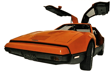 Bricklin Dealer Kit Photo